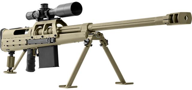 Новая магазинная 14,5-мм винтовка Snipex Alligator