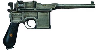 7,63-мм пистолет Маузер К. 96 модель 1912