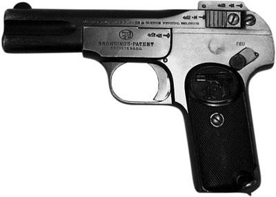 7,65-мм пистолет Браунинг М.1900. Бельгия