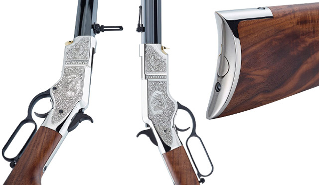 Henry Original Silver Deluxe Engraved