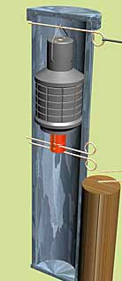 Трубчатая мина-граната 91
