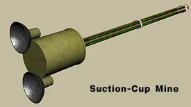 Suction-Cup Mine