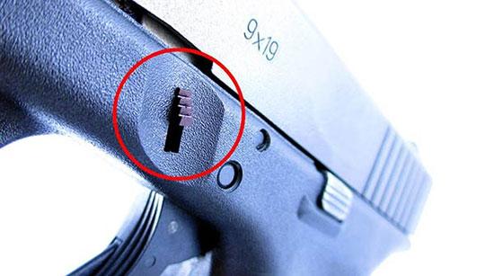 Защелка Trapezoid Grip для Glock