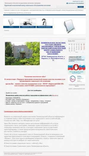 Предпросмотр для csodom.47social.ru — Ленинградское областное государственное автономное учреждение Кировский комплексный центр социального обслуживания населения