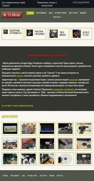 Предпросмотр для tir-minsk.by — Стрелок