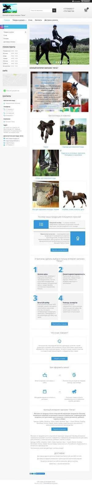 Предпросмотр для www.magazinpegas.kz — Пегас
