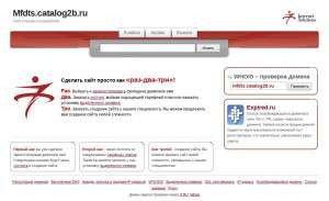 Предпросмотр для mfdts.catalog2b.ru — Мфдц