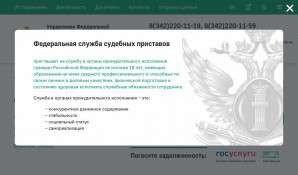 Предпросмотр для www.r59.fssprus.ru — Отдел судебных приставов по г. Лысьве