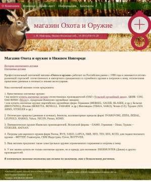 Предпросмотр для hunter-nn.ru — Охота и оружие
