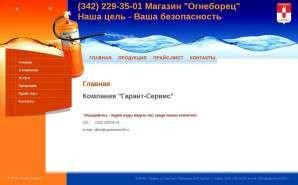 Предпросмотр для ogneborec59.ru — Огнеборец