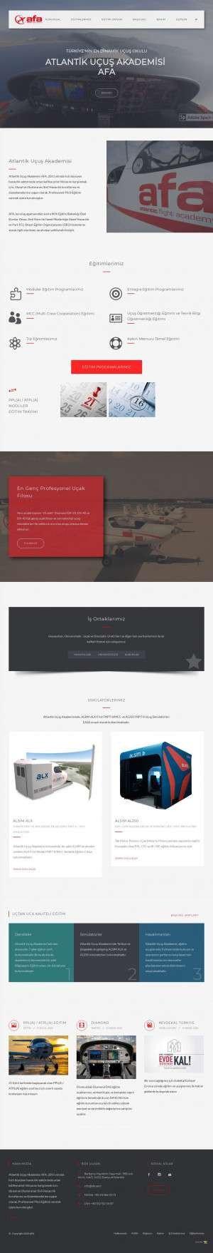 Предпросмотр для www.afa.aero — Atlantic Flight Academy
