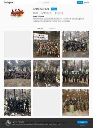 Предпросмотр для www.instagram.com — Nokta Paintball