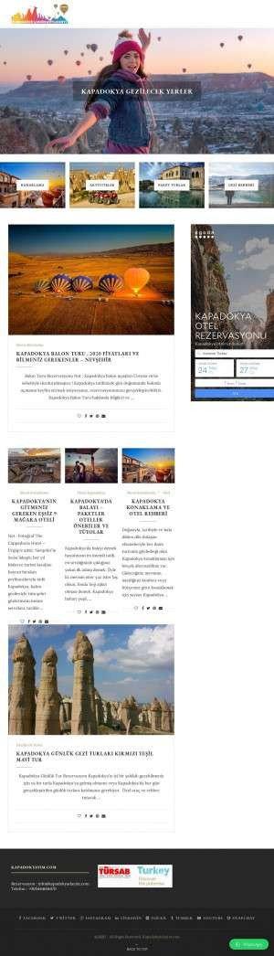 Предпросмотр для www.kapadokyadayim.com — Kapadokyadayim.com