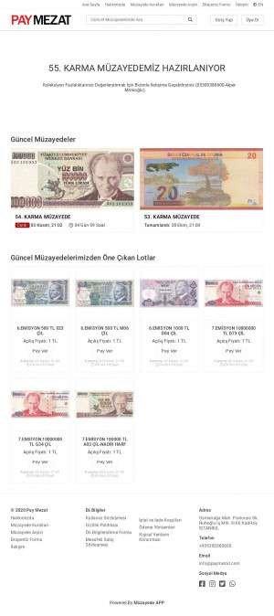 Предпросмотр для www.paymezat.com — Pay Mezat