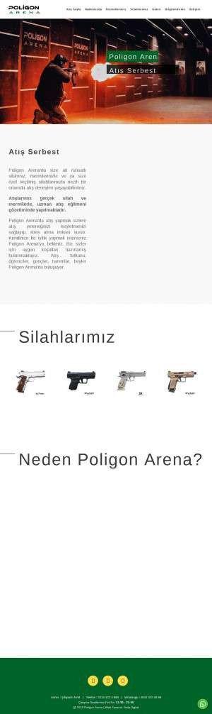 Предпросмотр для www.poligonarena.com — Poligon Arena