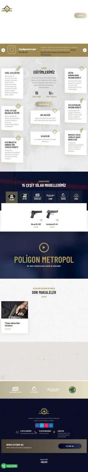 Предпросмотр для www.poligonmetropol.com — Poligon Metropol Shooting Range