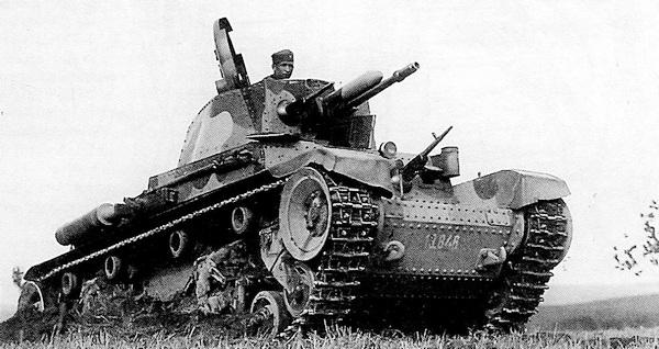 Танк LT vz.35 из состава 3-го танкового полка чехословацкой армии. Нейтральная Словакия, 1937 год.