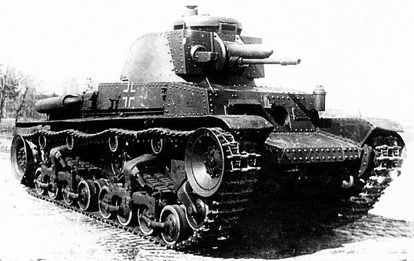 Трофейный танк Pz.35(t) на полигоне в Кубинке. 1948 год. К сожалению, до наших дней эта машина не сохранилась.