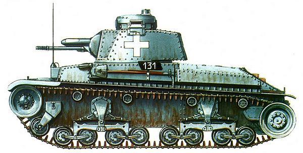 Pz.35(t) из 11-го танкового полка 1-й лёгкой дивизии Вермахта. Польша, сентябрь 1939г.
