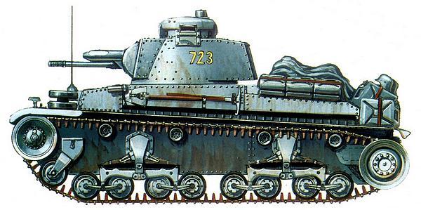 Pz.35(t) из 65-го танкового батальона 11-го танкового полка 6-й танковой дивизии. Восточный фронт, лето 1941г.