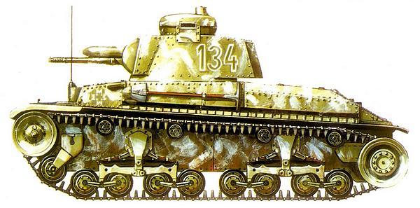 R-2 из 2-го румынского танкового полка. Западная Словакия, осень 1944г.