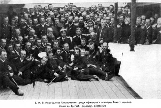 """Владимир Мономах"" на рейде Алжира. Конец 1890-х гг."