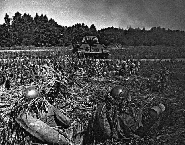 Глава 9 Пехота против танков