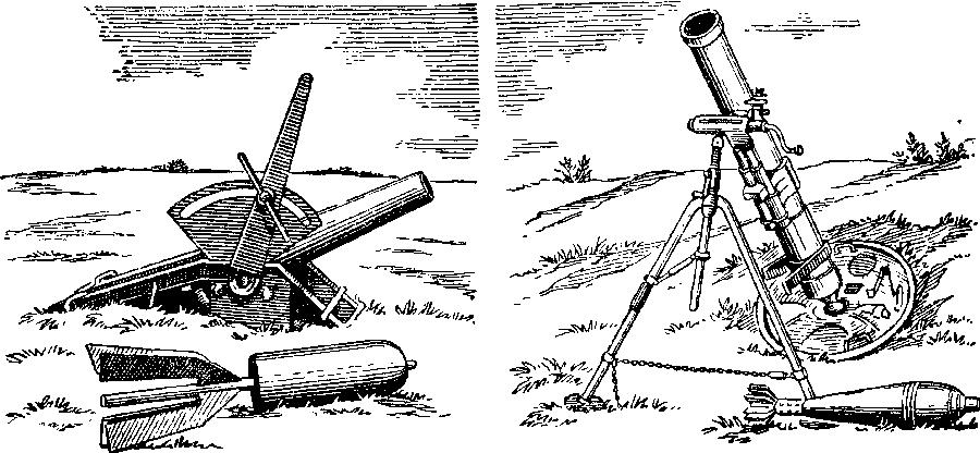 Мортиры и минометы