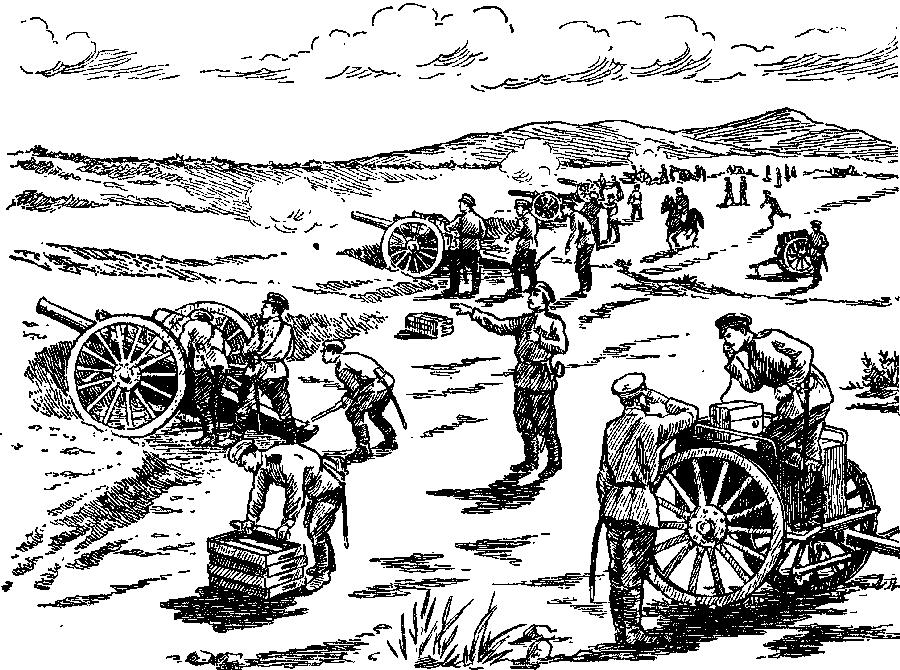 В бою под Ляояном