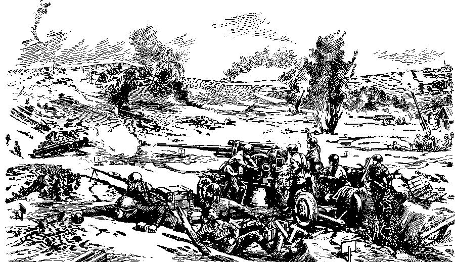 Советская артиллерия в боях под Сталинградом
