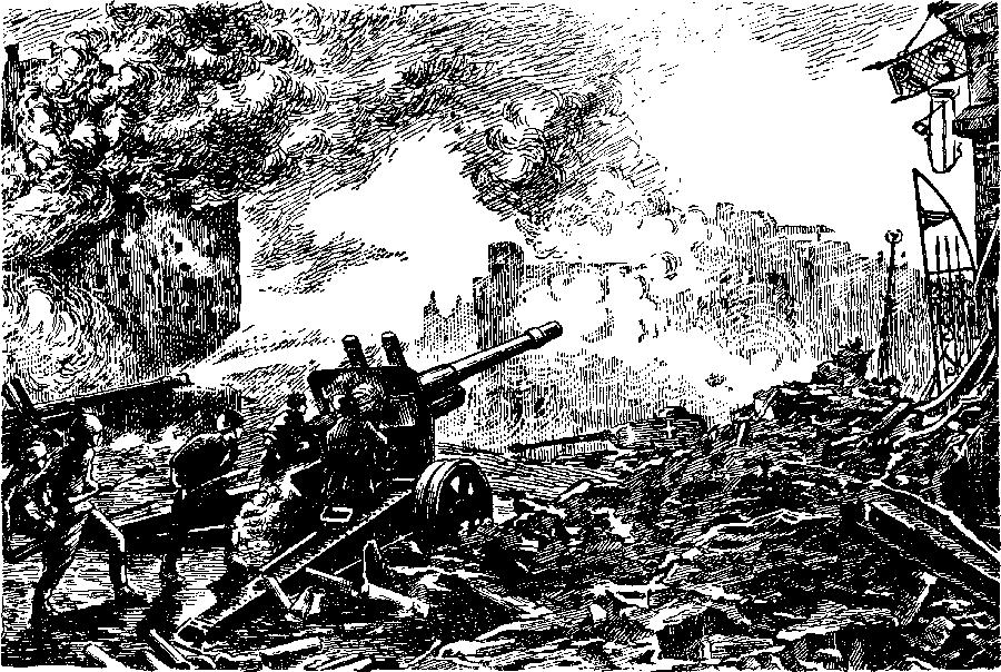 Советская артиллерия в битве за Берлин
