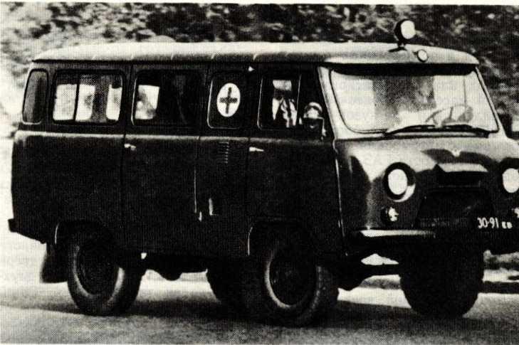 /07. Медицинский автомобиль УАЗ-452А