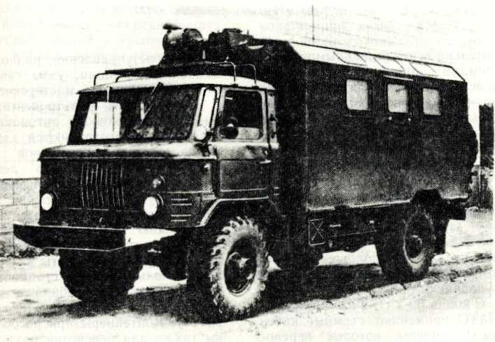 62. ГАЗ-66 с кузовом-фургоном К-66