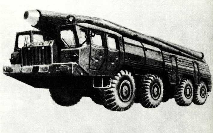 65. Пусковая установка оперативно-тактической ракеты ОТР-22
