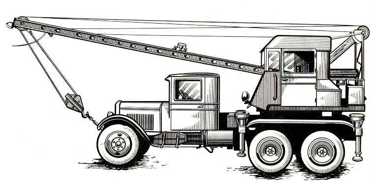 76. Автокран АК-3