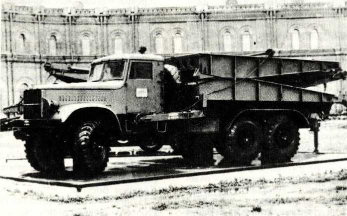 83. Тяжелый механизированный мост ТММ