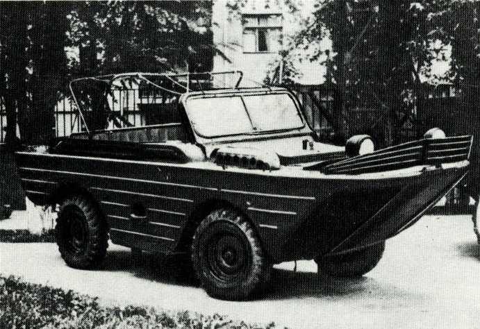 86. Плавающий автомобиль МАВ (ГАЗ-46)