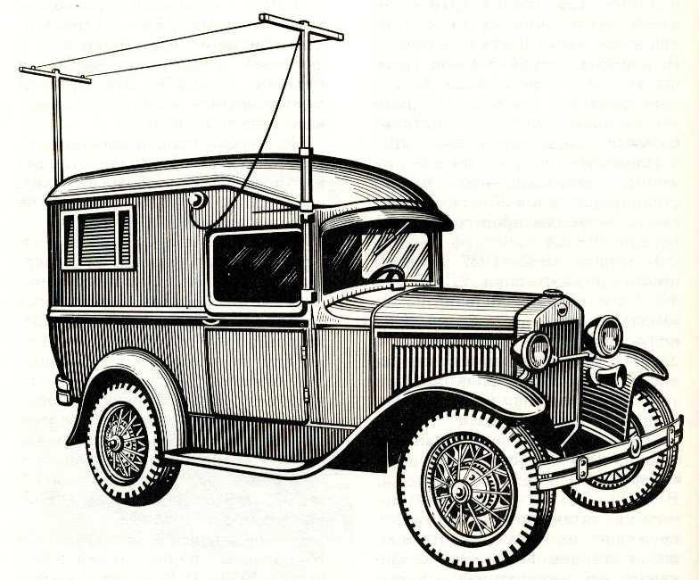 91. Радиостанция 5АК-1 на ГАЗ-4