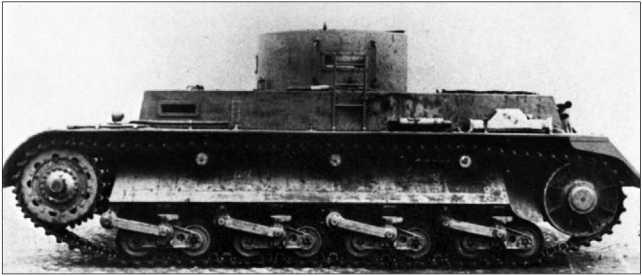 Прототип танка BW фирмы Rheinmetall. 1935 год.