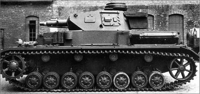 Pz.IV Ausf.F, изготовленный в 1941 году заводом Krupp-Gruson.