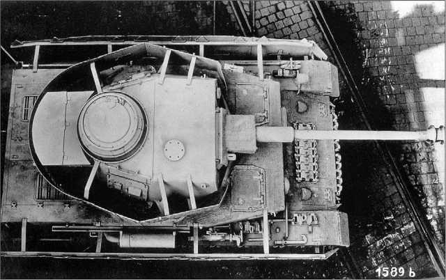 Pz.IV Ausf.H с полным комплектом бортовых экранов и нанесенным «циммеритным» покрытием. Машина изготовлена в сентябре 1943 года и подготовлена для испытаний «циммерита».