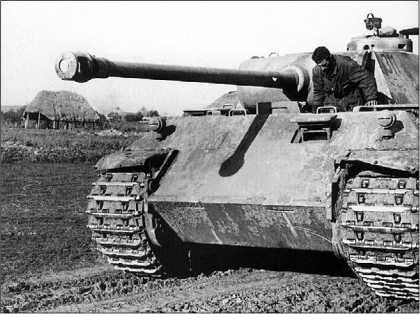 «Пантера» Ausf.D дивизии «Великая Германия». Район Карачева, август 1943 года.