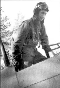 Командир 3/LeLv-26 1-й лейтенант Олли Пухакка, снимок 10 сентября 1942г.