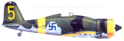 Фиат G.50 сержанта Клауса Алакоски, ноябрь 1942г.