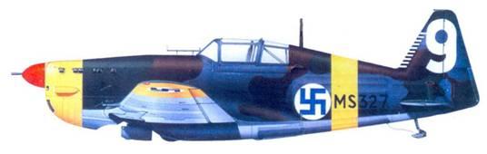 MS.406 стафф-сержанта Урхо Лихтоваара. ноябрь 1941г.