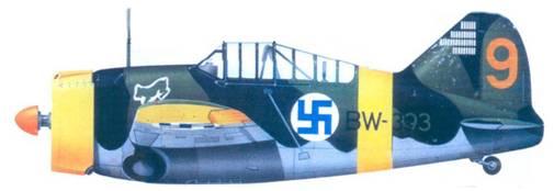Брюстер «модель 239» капитана Ханса Винда. апрель 1944г.