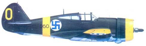 Кертис «Хок-75А-6» 2-го лейтенанта Киюсти Кархалы, сентябрь 1941г.