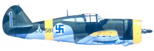 Кертисс «Хок-75А-2» капитана Вейкко Ивинена. март 1944г.