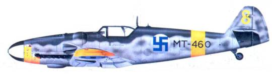 Bf.109G-6 стафф-сержанта Эмили Виса, июль 1944г.