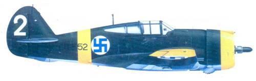 Кертисс «Хок-75А-3» 3-го лейтенанта Калеви Тирво, июнь 1942г.